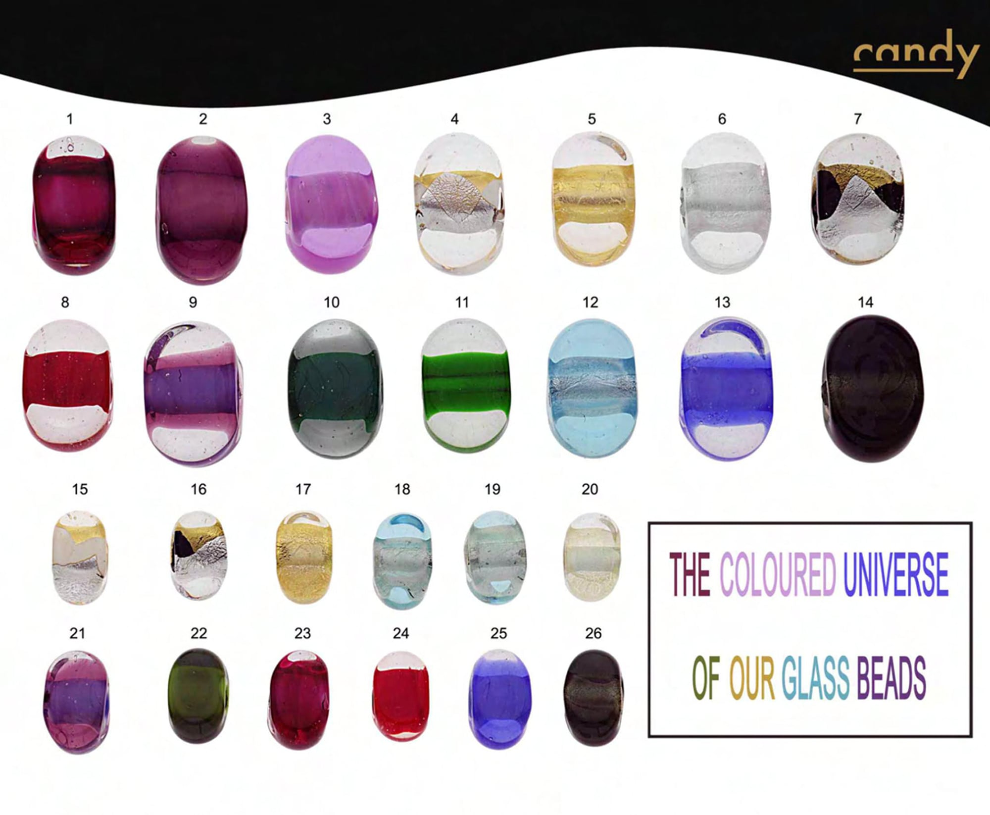 Candies colors availability