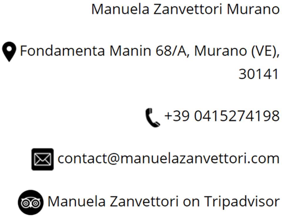manuela zanvettori contacts
